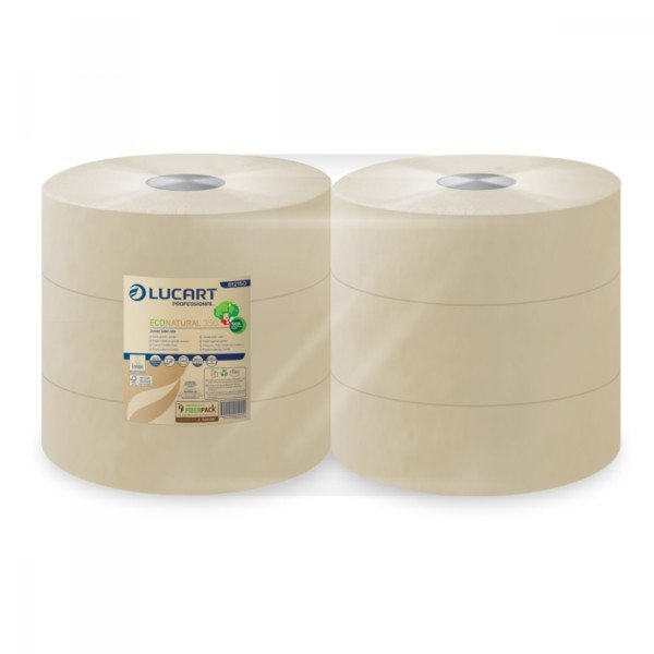 Papiers Toilettes Jumbo Maxi ECONATURAL