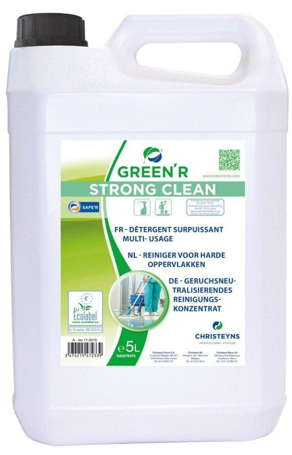 HYGI'GREEN STRONGCLEAN Detergent Surpuissant ECOLABEL