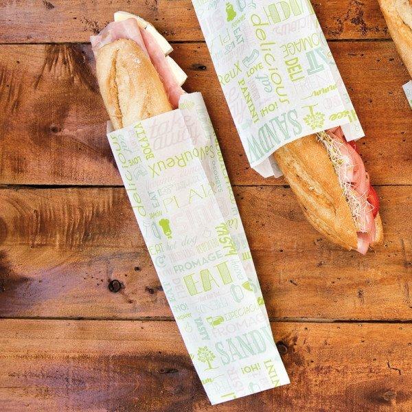 Sac baguette 9+4x30cm'PAROLE'
