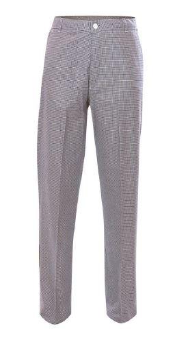 Pantalon pied de poule 100% coton - Taille 38