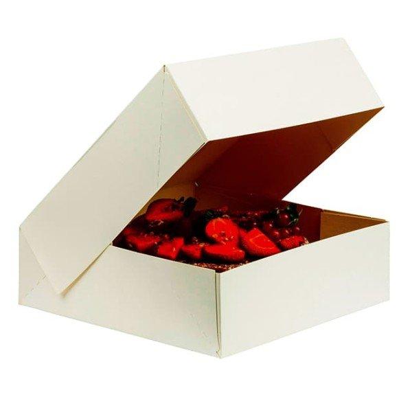 Boîte à savarin 40x40x10 cm