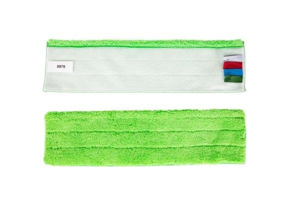 Bandeau Microfibre Dépoussiérage Vert 40cm