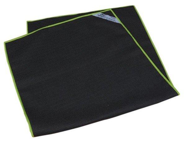 Torchon Vaisselle Microfibre 40x80cm gris/vert