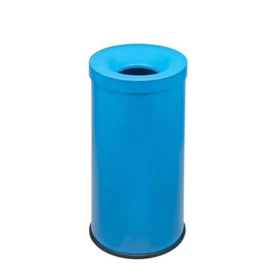 Corbeille Cocorito Antifeu Bleu 50L