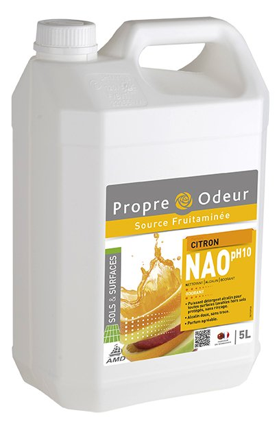 NAO Nettoyant Alcalin Odorant Citron
