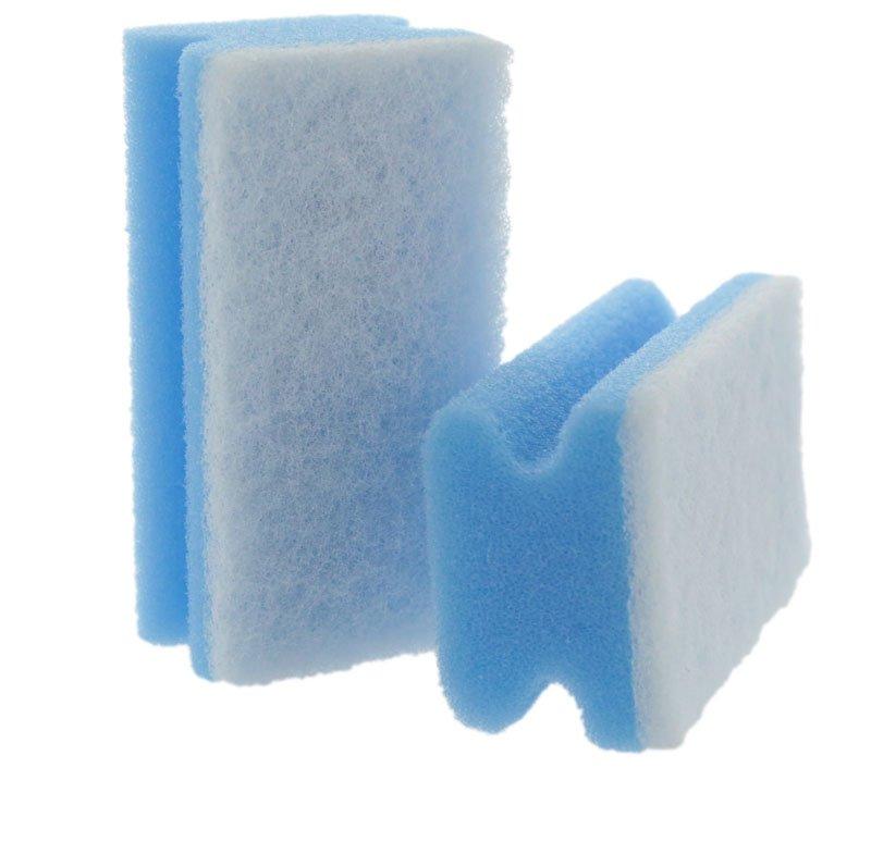 Eponge Poignée Bleu
