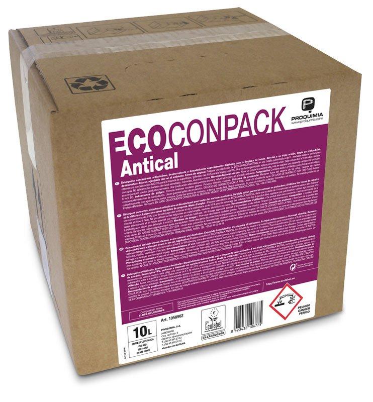 ECOCONPACK ANTICAL Détartrant Sanitaire ECOLABEL