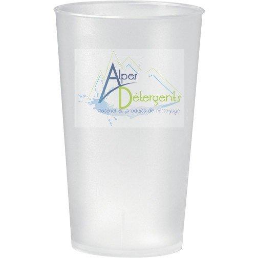 Gobelet réutilisable 35 cl 'Alpes Détergents'