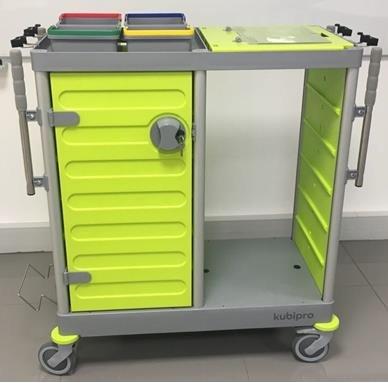 Chariot KUBI PRO Compact + Kit de pré-imprégnation