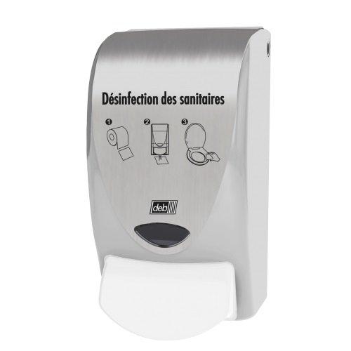 Distributeur désinfection lunette des WC
