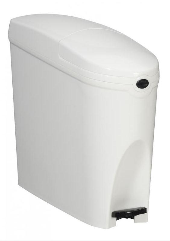 Poubelle Hygiene Feminie  - 20L - BLANC