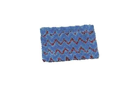 Mini bandeau EMR 80 - Velcro - bleu vif - bleu clair - rouge