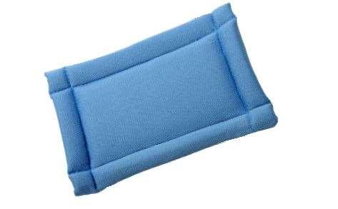 Mini bandeau VITRE - Velcro - bleu clair - 10 x 16 cm