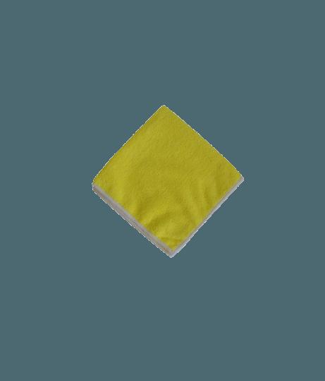Lavette Microfibre Jaune 230g - Paquet de 5 unités.