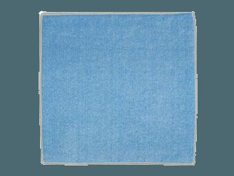 Carré Lavette éponge bleu 24x24