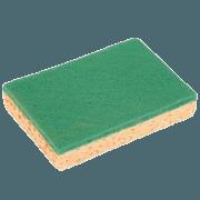 Eponge Spontex Verte 'AO' Grand modèle
