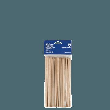 Piques en bois 15 cm