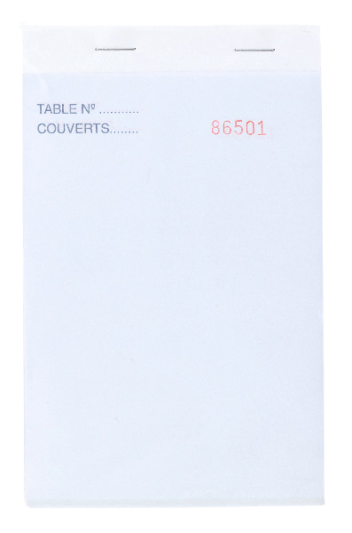 Bloc Commande autocopiant 2F 95x150