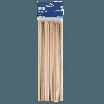 Piques en bois 30 cm