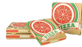 Boite pizza 33 cm Kraft Brun
