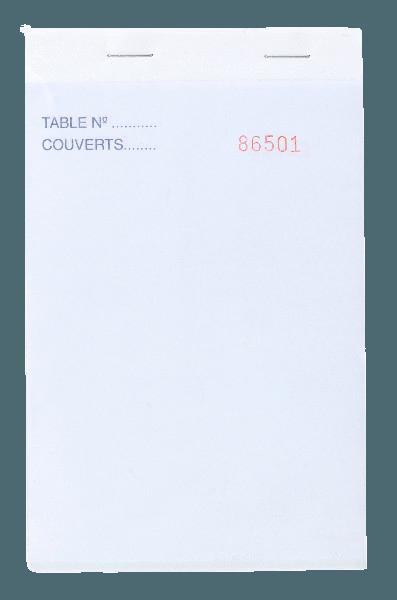 Bloc Commande autocopiant 2F 95x170