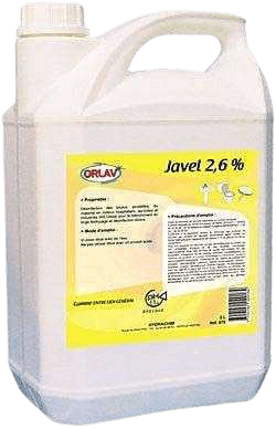 JAVEL Parfumée CITRON 2.6% - ORLAV