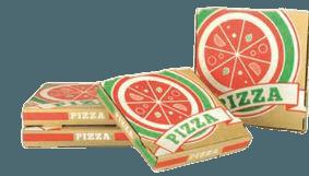 Boite pizza 29 cm Kraft Brun