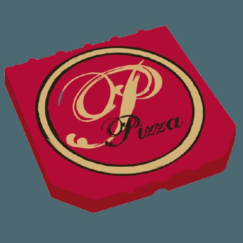 Boite pizza 29 cm Rouge