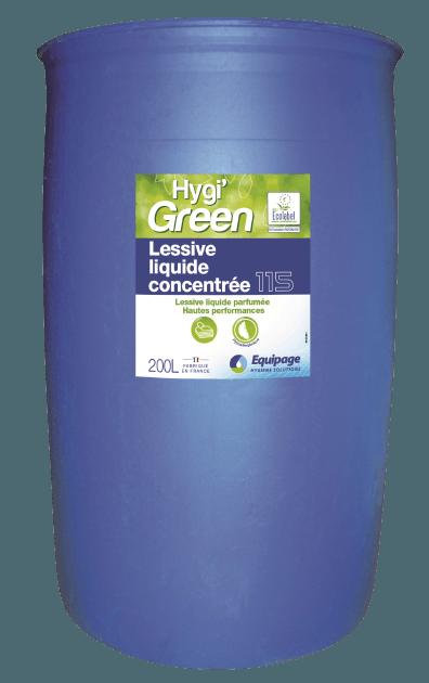 HYGI'GREEN 115 Lessive Liquide Ultra-Concentée ECOLABEL