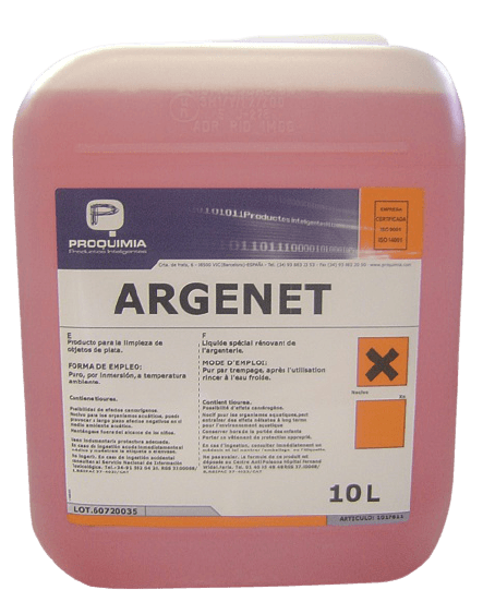 Argenet Nettoyant Argenterie