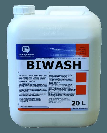 BIWASH Lessive liquide Enzymatique
