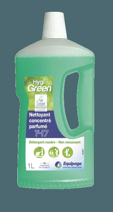 HYGI'GREEN 147 Nettoyant concentré parfumé ECOLABEL