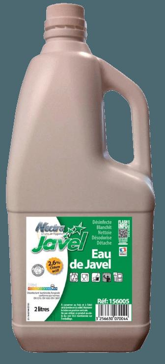 JAVEL NECTRA 9° ( 2.6%) - Bidon de 2L.