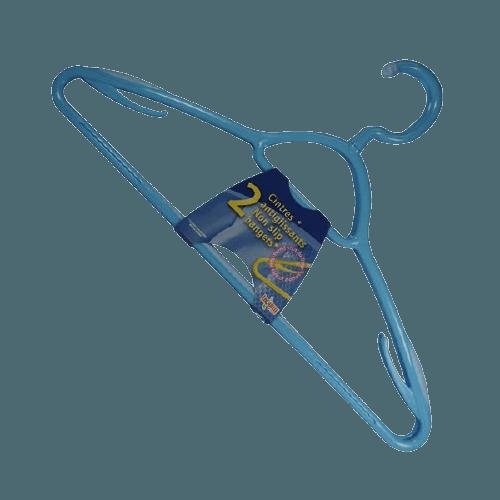 Cintre galbé plastique