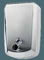 Distributeur Savon Inox brillant 1.2L