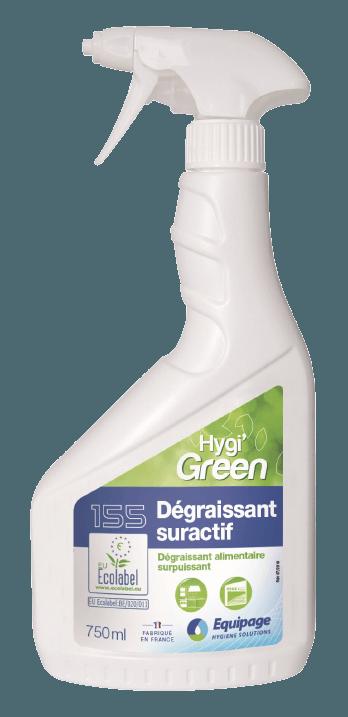 HYGI'GREEN 155 Nettoyant Dégraissant Suractif ECOLABEL
