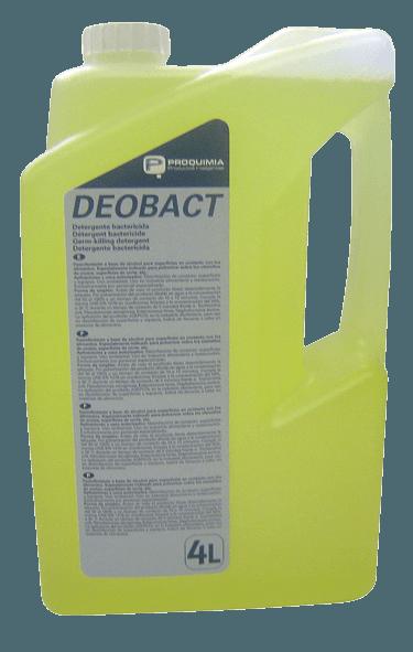 DEOBACT D Nettoyant Bactéricide Fongicide Alimentaire