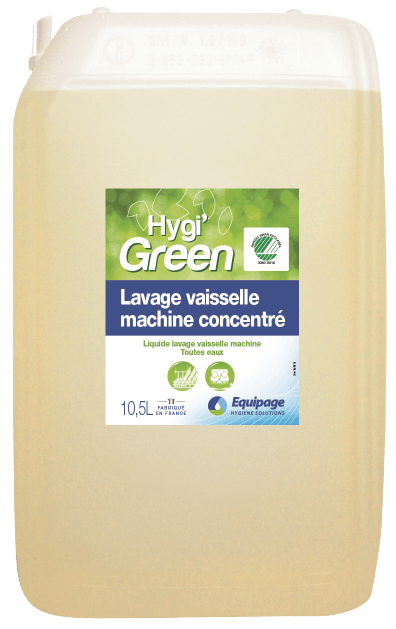 HYGI'GREEN Lavage HYPER-concentré Nordic Ecolabel