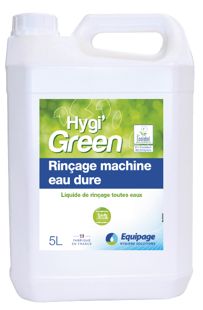 HYGI'GREEN Rinçage Eau Dure Ecolabel