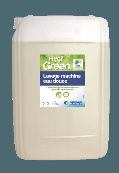 HYGI'GREEN Lavage Machine Ecolabel.
