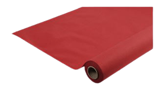 Rlx nappe AIRLAID 25 x 1.20 m ROUGE