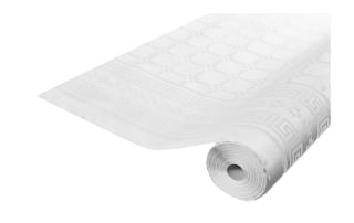Rlx nappe papier Blanc 10 x 1.18 m