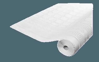 Rlx nappe papier Blanc 100 x 1.18 m