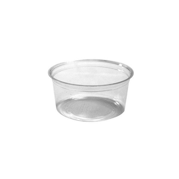 Pot à coulis transparent 250 ml
