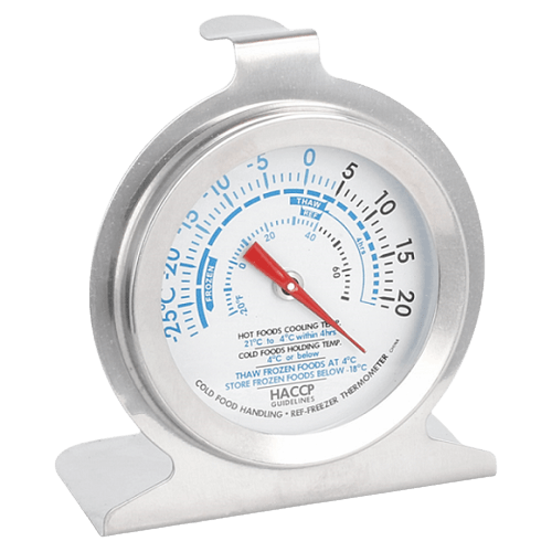 Thermomètre refrigerateur/congélateur -29°/20°C inox