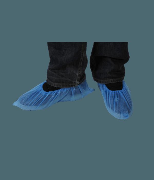 Surchaussure Polyéthylène Bleue