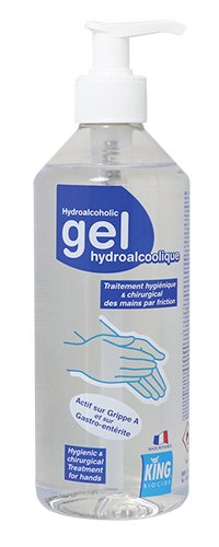 Gel Hydroalcoolique king 500 ml