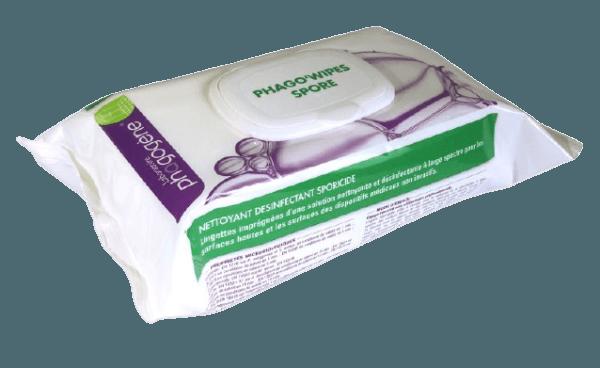 Lingettes Phago'Wipes Sporicide Virucide