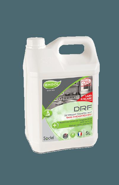 DRF Désinfectant Sans Rinçage Ecocert.