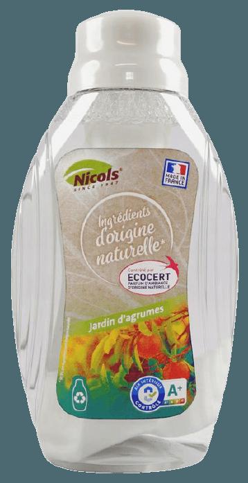 Désodorisant à mèche Agrumes Ecocert NICOLS
